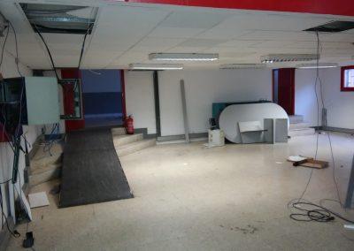 Proyecto de obras para Centro Deportivo. Gimnasio