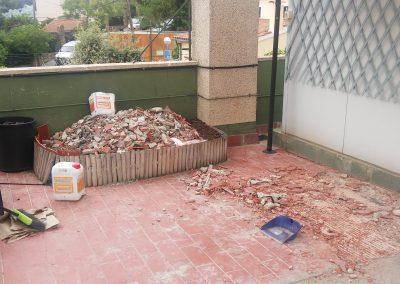 Proyecto de obras para Impermeabilización de cubierta en edificio. Informe de idoneidad técnica para Rehabilitación de azotea.