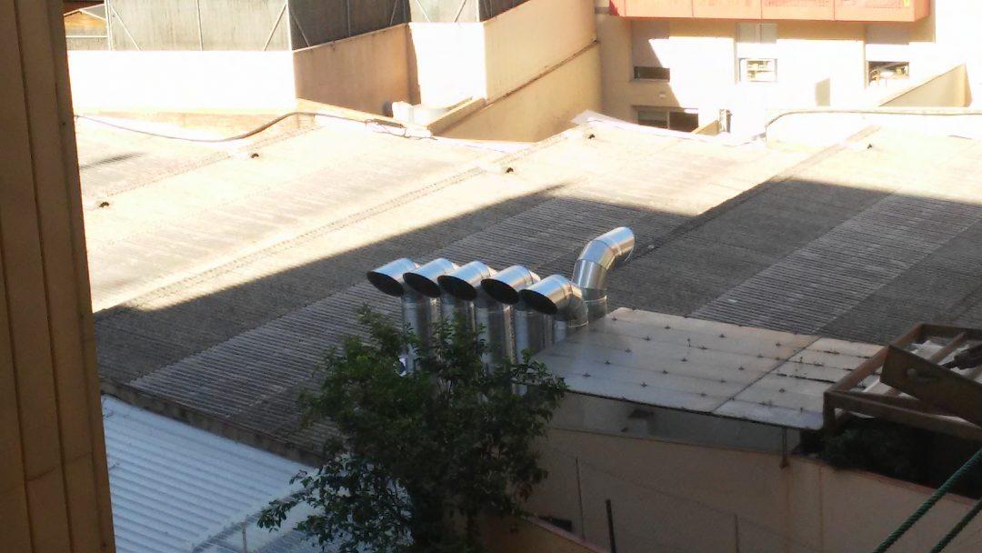 Proyecto de ventilación en aparcamiento interior de dos plantas