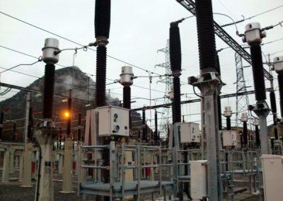 Coordinación de seguridad y salud para obras en estación transformadora de electricidad
