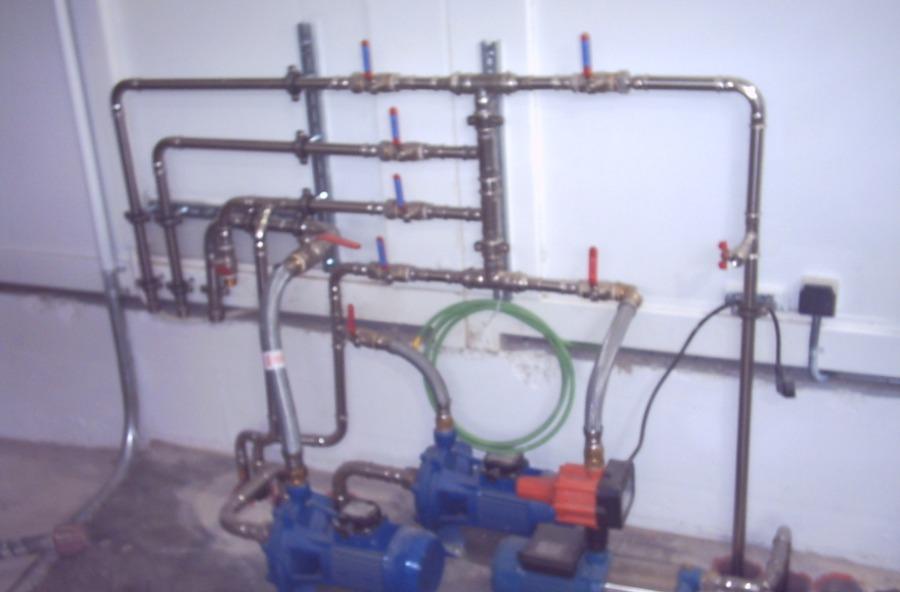 Proyecto de instalaciones. Manifold de válvulas para control de un centro de lavado