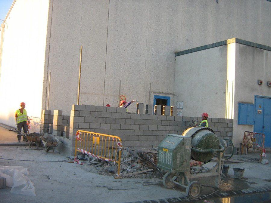 Proyecto de obra civil para Construcción de centro de transformación de electricidad
