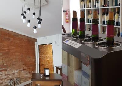 Licencia de apertura de bodega con degustación y cata de vinos.