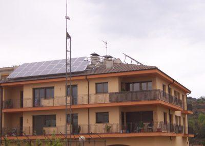 Energía solar fotovoltaica en viviendas y edificios de viviendas. ACS y Calefacción