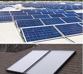 paneles solares y térmicos