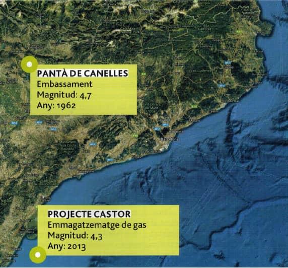 terremotos provocados por actividades humanas