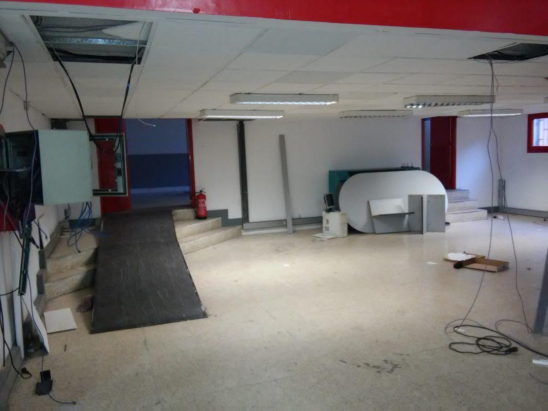 Proyecto de obras para Centro deportivo. Gimnasio.