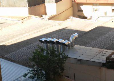 Proyecto de ventilación para aparcamiento subterráneo de dos plantas