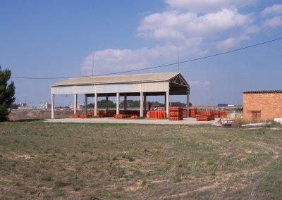 Licencia de actividad para establecimiento industrial de almacenamiento de bombonas de gas