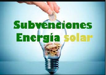 Subvenciones energía solar   Autoconsumo